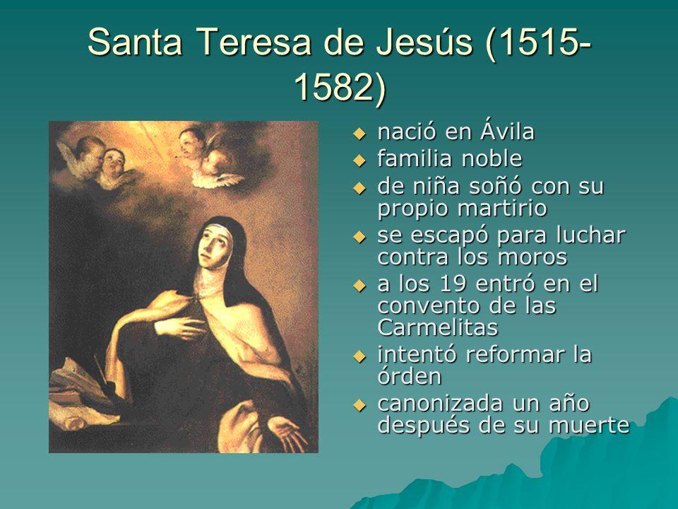 Santa Teresa de Jesús (1515-1582)