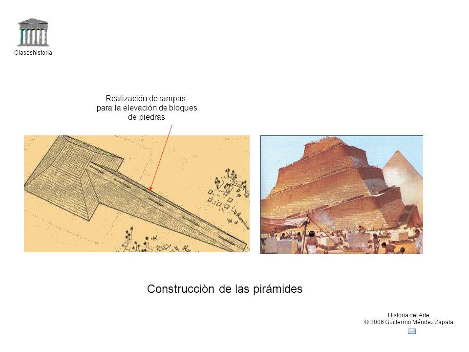 Construcciòn de las pirámides