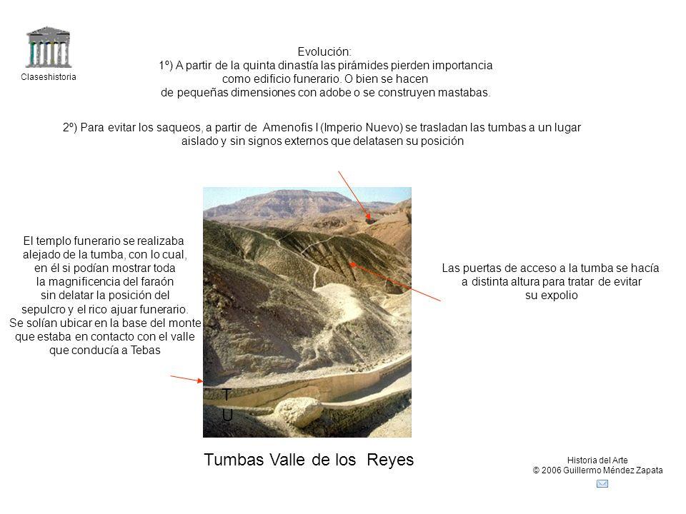 Tumbas Valle de los Reyes