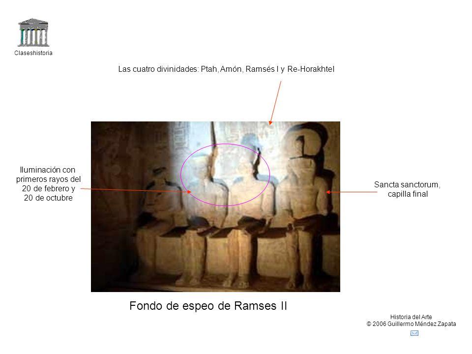 Fondo de espeo de Ramses II