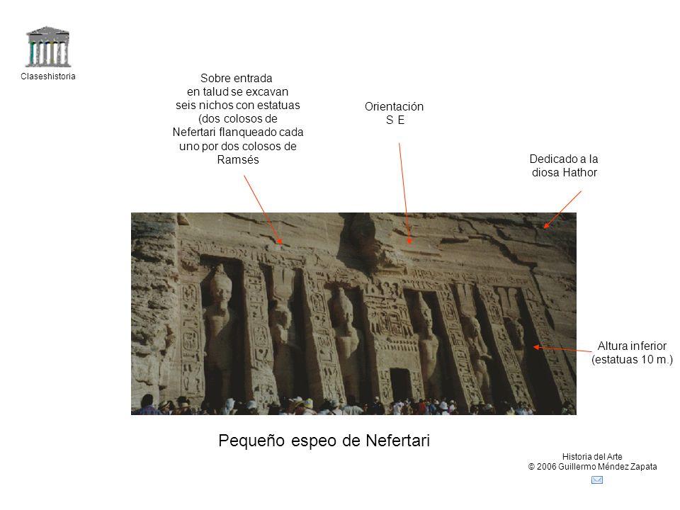Pequeño espeo de Nefertari