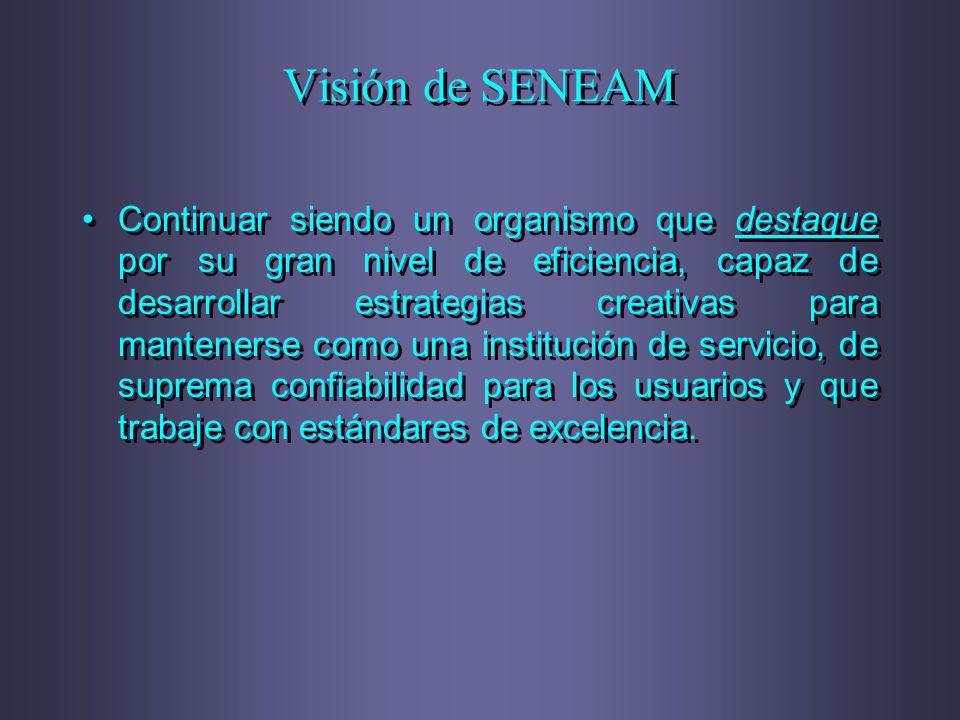 Visión de SENEAM