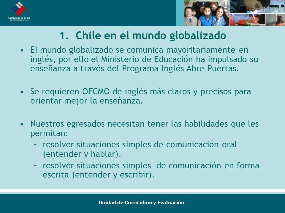 1. Chile en el mundo globalizado
