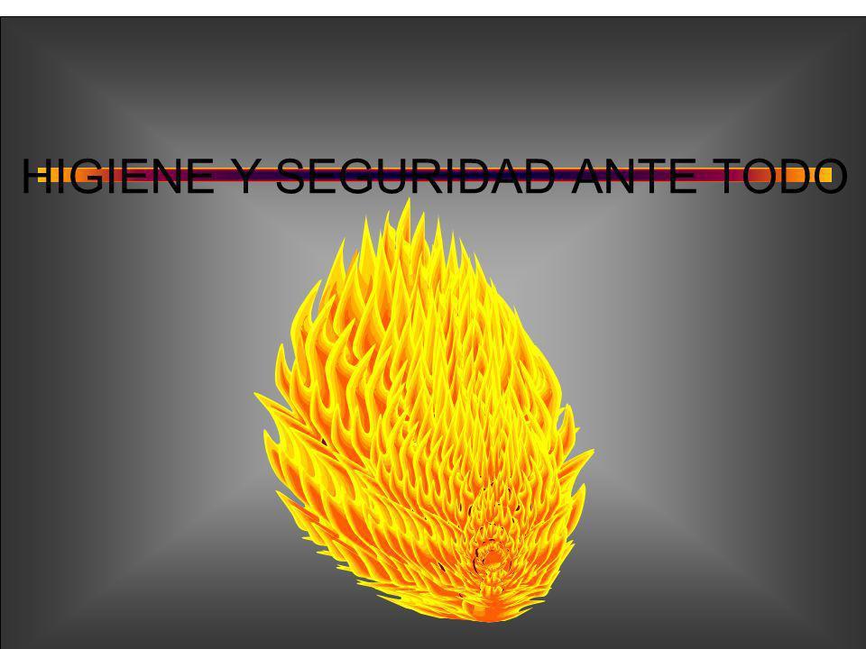 HIGIENE Y SEGURIDAD ANTE TODO