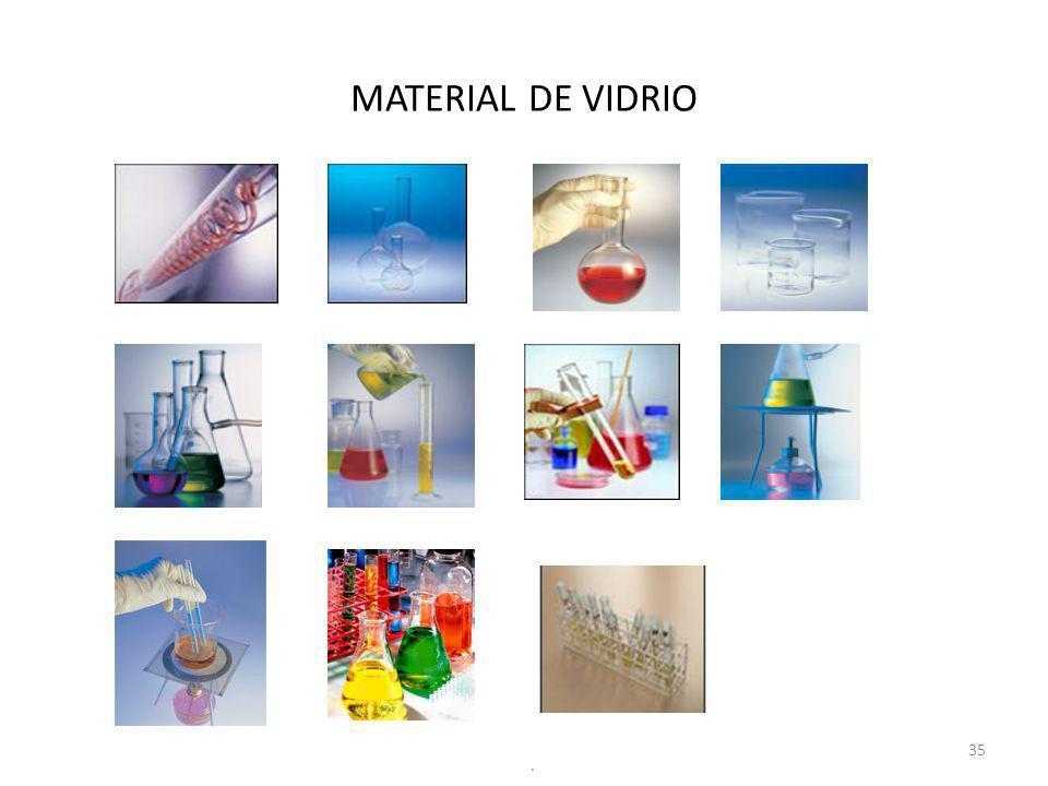 MATERIAL DE VIDRIO .