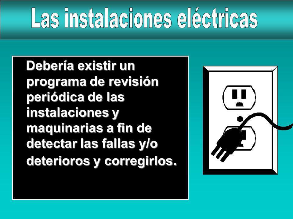 Las instalaciones eléctricas