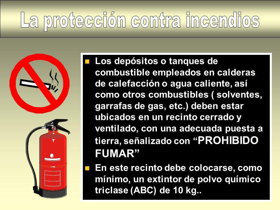 La protección contra incendios