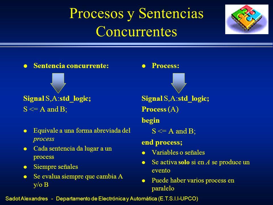 Procesos y Sentencias Concurrentes