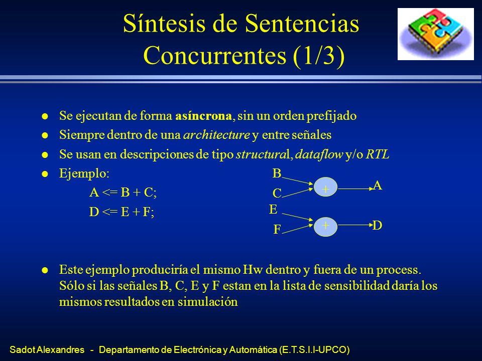 Síntesis de Sentencias Concurrentes (1/3)