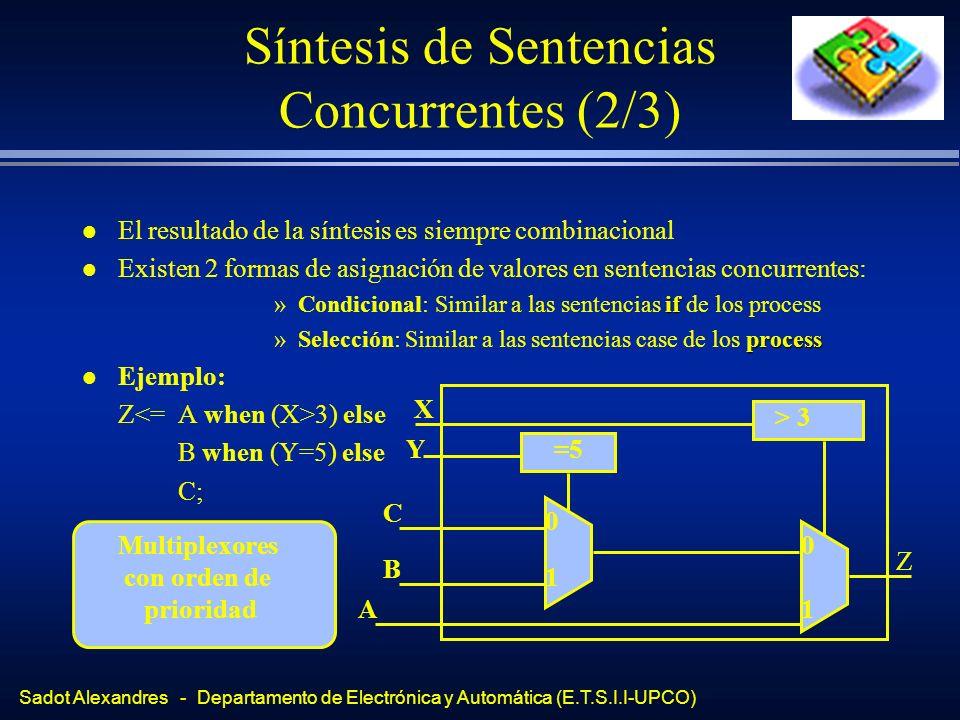 Síntesis de Sentencias Concurrentes (2/3)