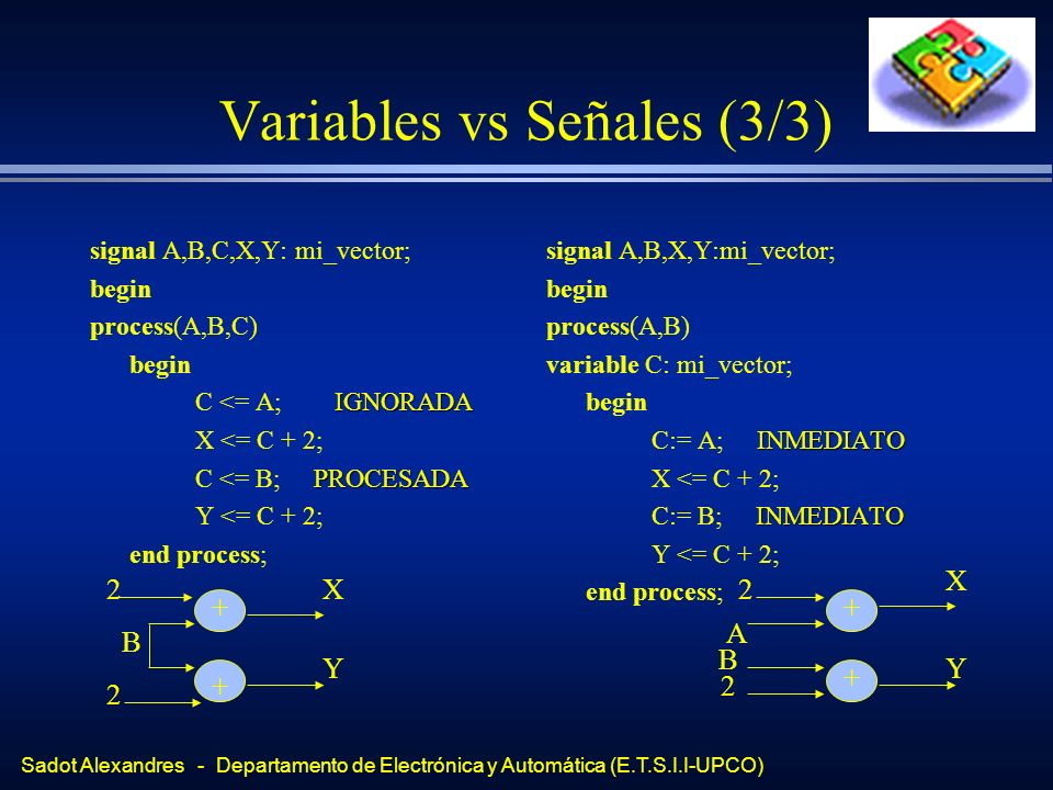 Variables vs Señales (3/3)