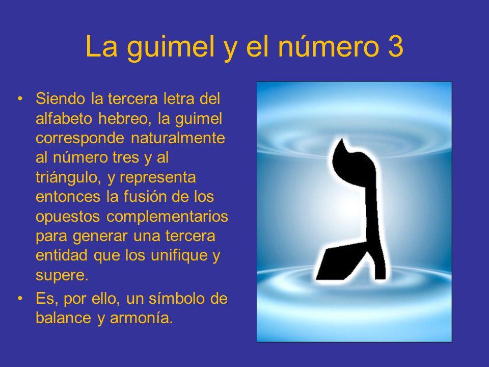 La guimel y el número 3