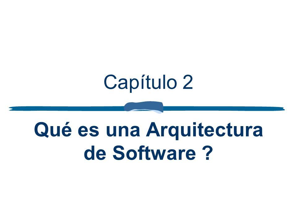 Capítulo 2 Qué es una Arquitectura de Software