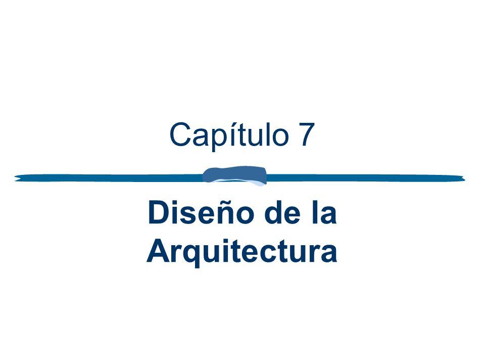 Capítulo 7 Diseño de la Arquitectura