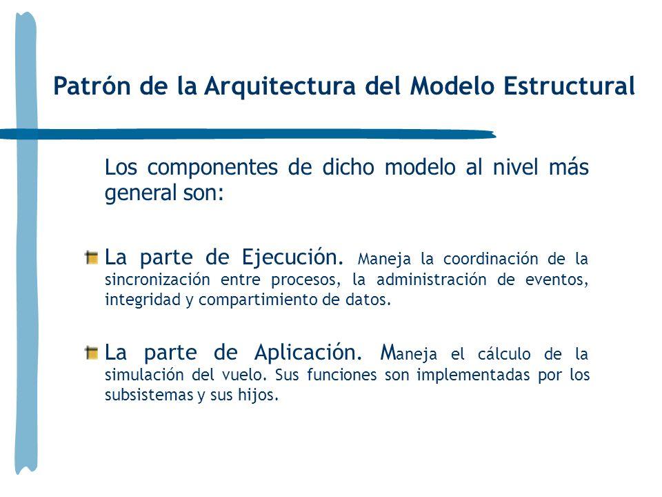 Patrón de la Arquitectura del Modelo Estructural