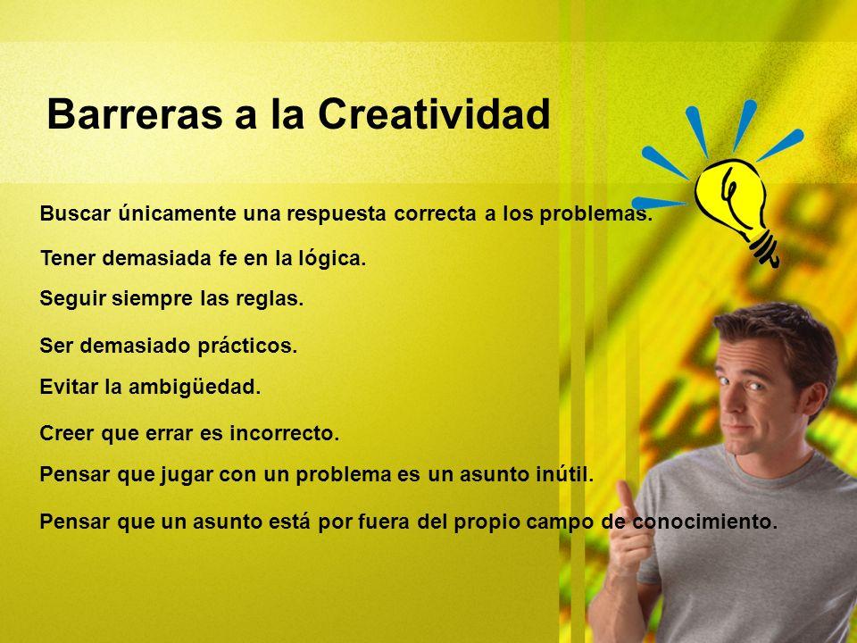 Barreras a la Creatividad