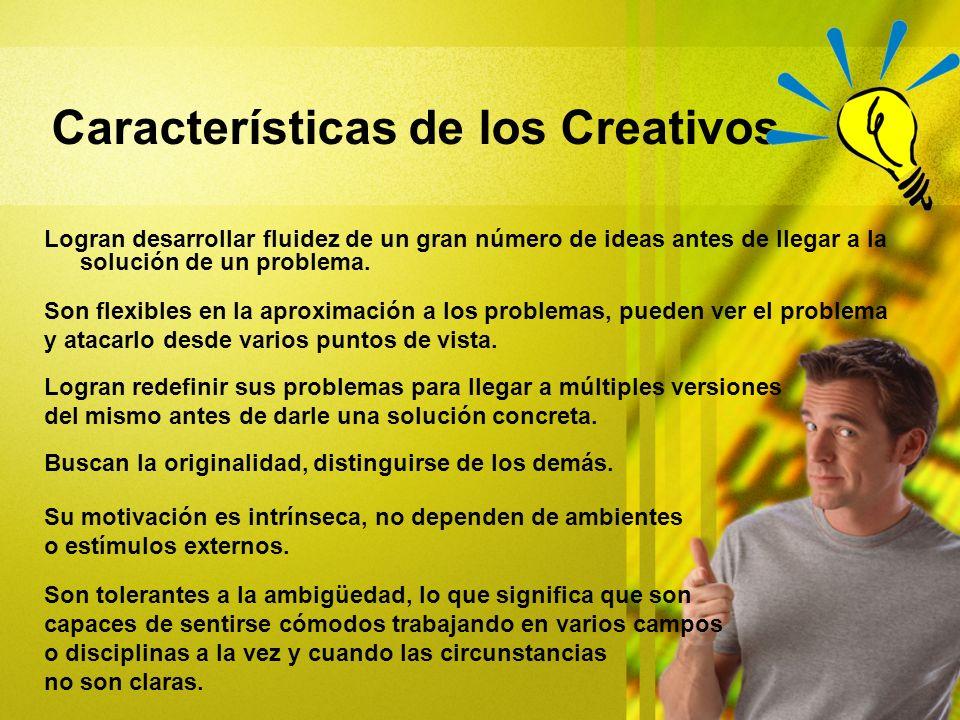 Características de los Creativos