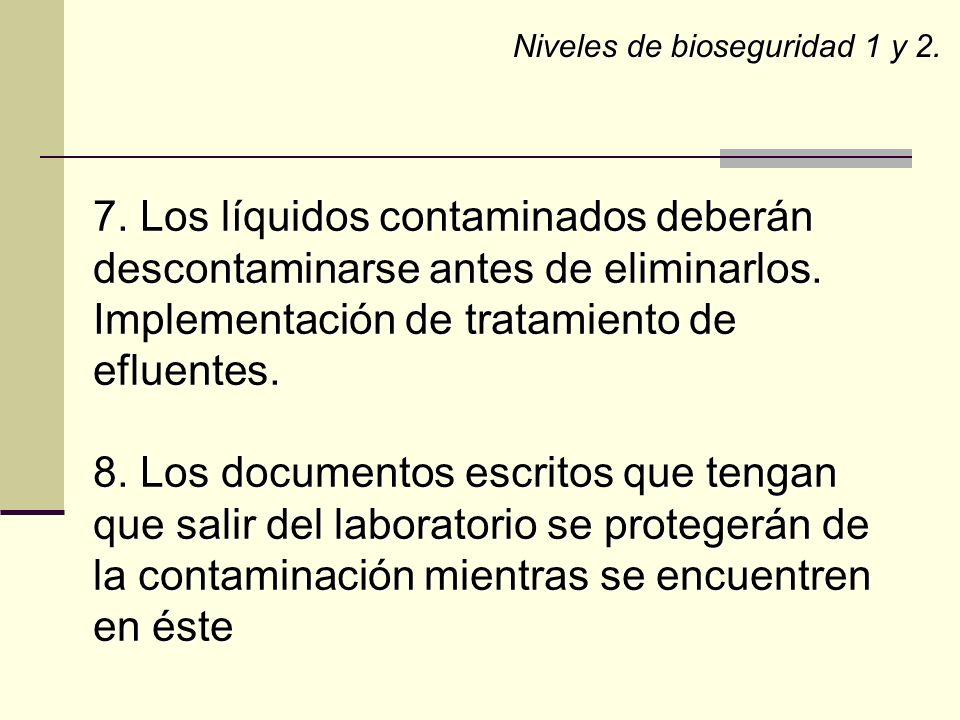 Implementación de tratamiento de efluentes.