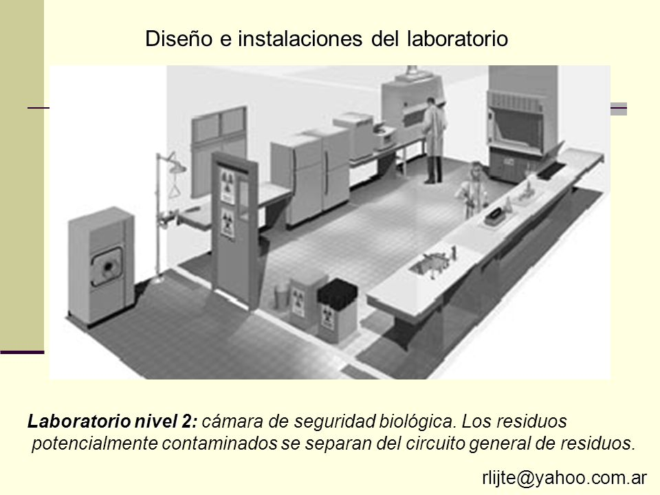 Diseño e instalaciones del laboratorio