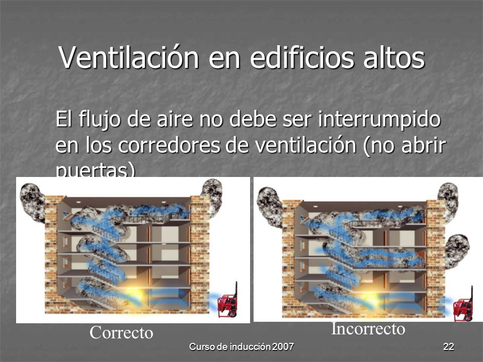 Ventilación en edificios altos