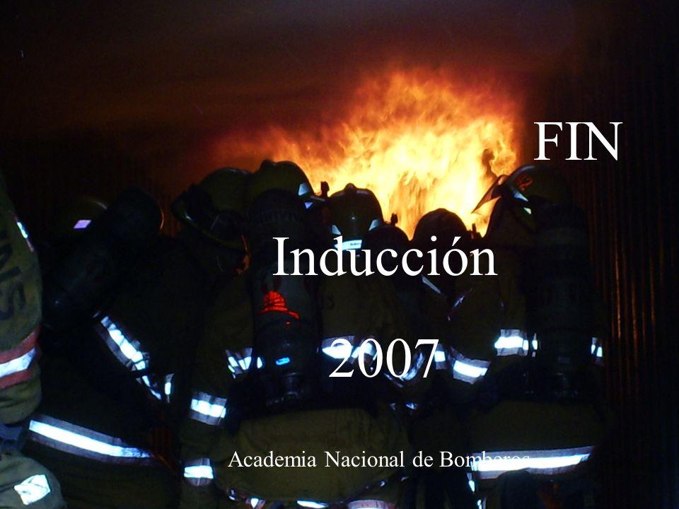 FIN Inducción 2007 Academia Nacional de Bomberos