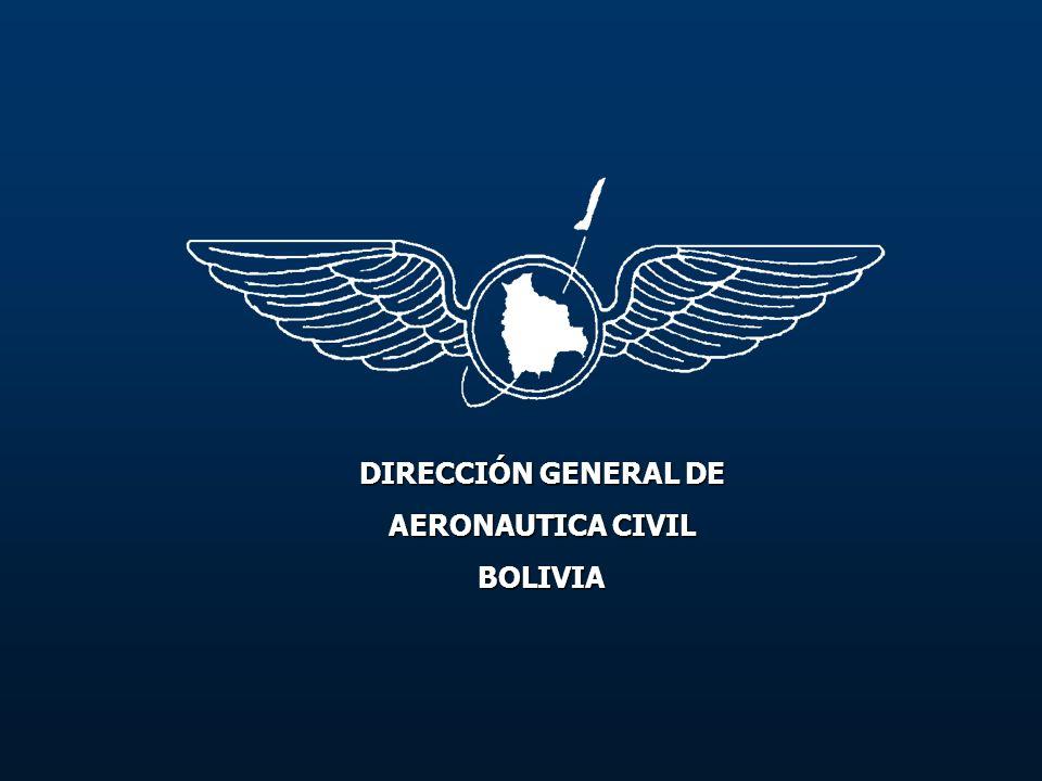 DIRECCIÓN GENERAL DE AERONAUTICA CIVIL BOLIVIA