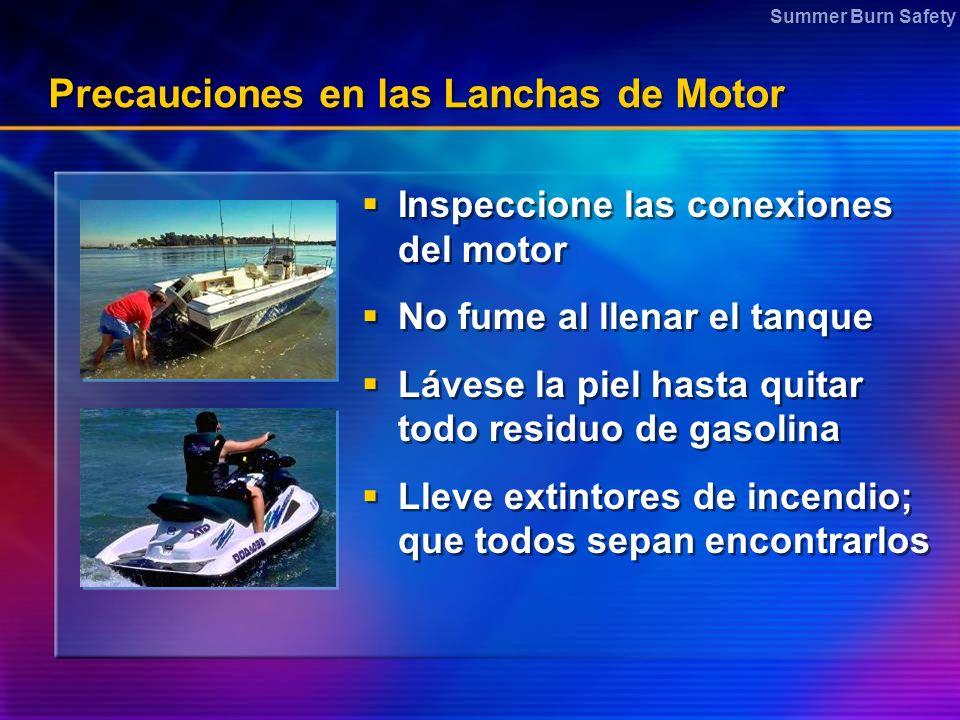 Precauciones en las Lanchas de Motor
