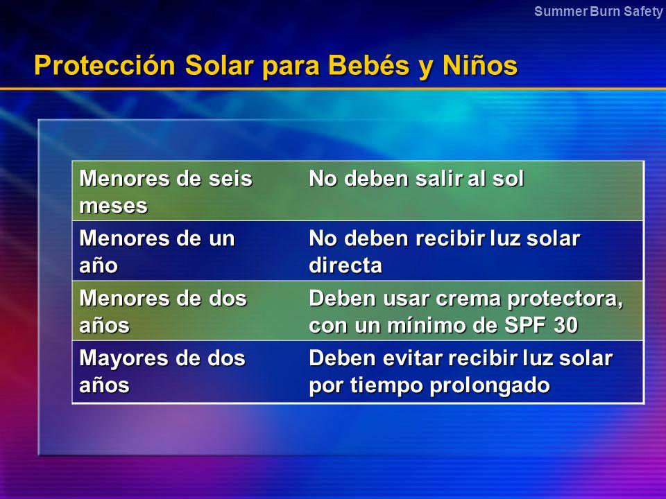 Protección Solar para Bebés y Niños