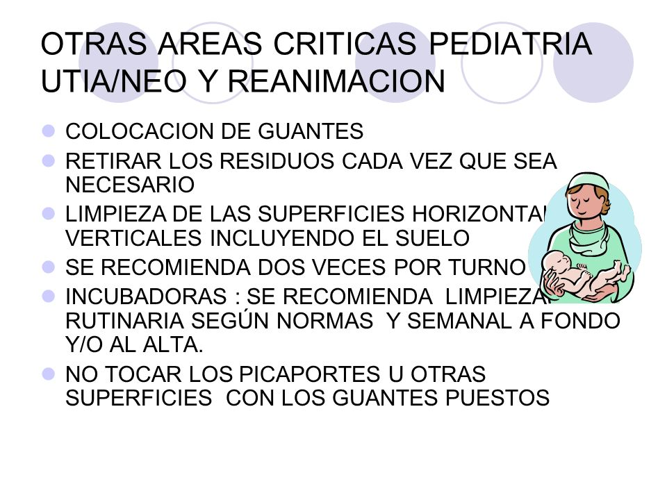 OTRAS AREAS CRITICAS PEDIATRIA UTIA/NEO Y REANIMACION