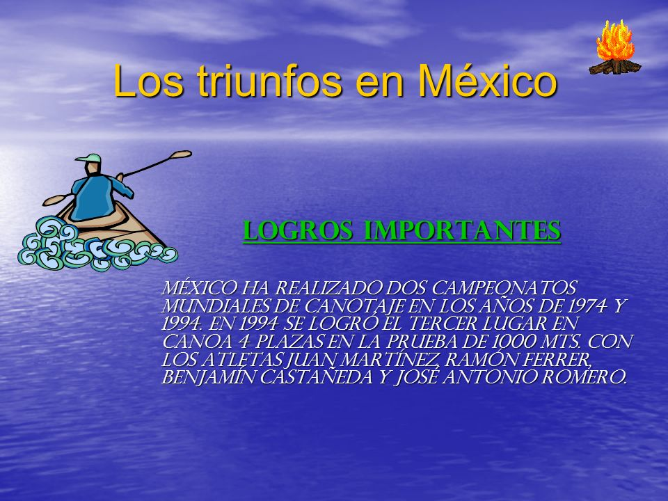 Los triunfos en México