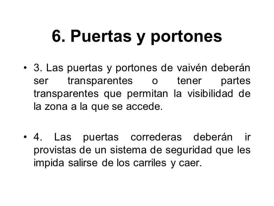 6. Puertas y portones