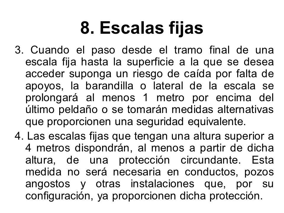 8. Escalas fijas