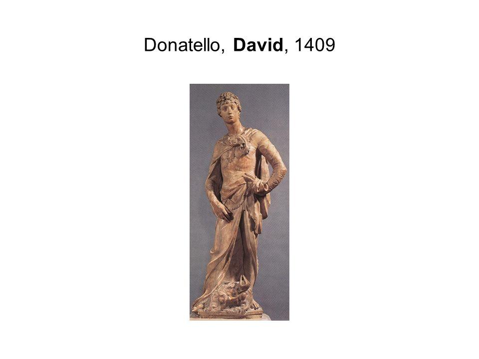 Donatello, David, 1409