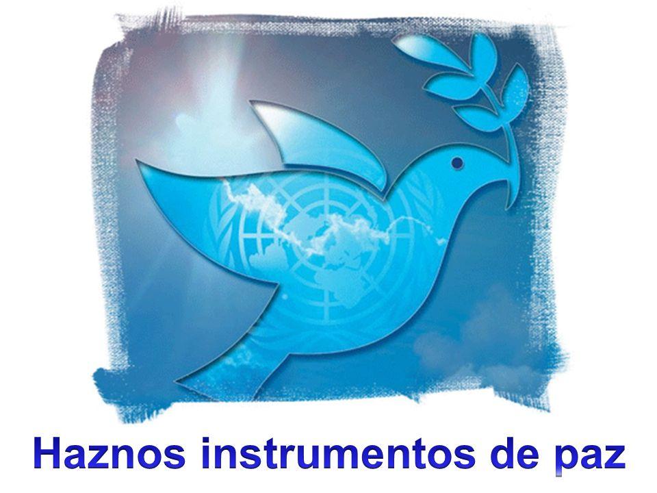 Haznos instrumentos de paz