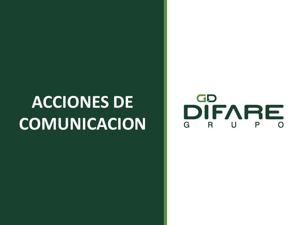 ACCIONES DE COMUNICACION