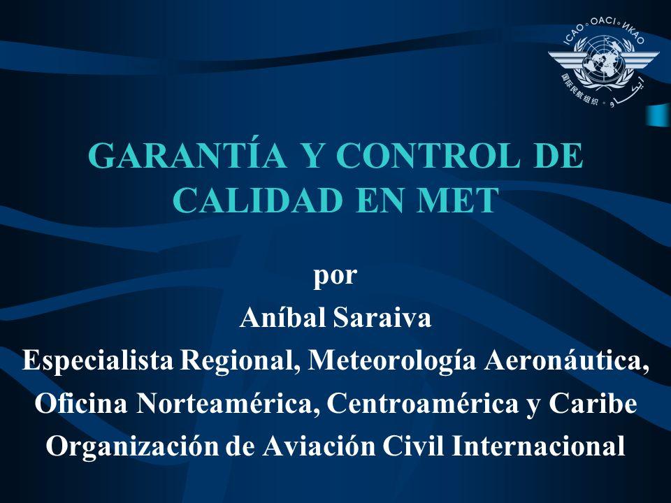 GARANTÍA Y CONTROL DE CALIDAD EN MET