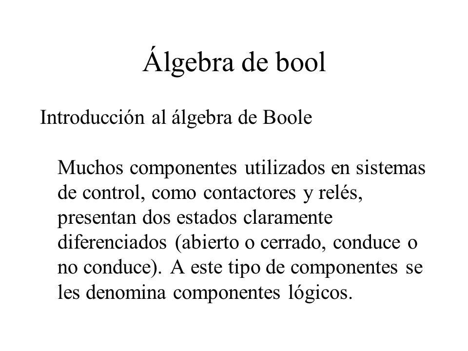 Álgebra de bool