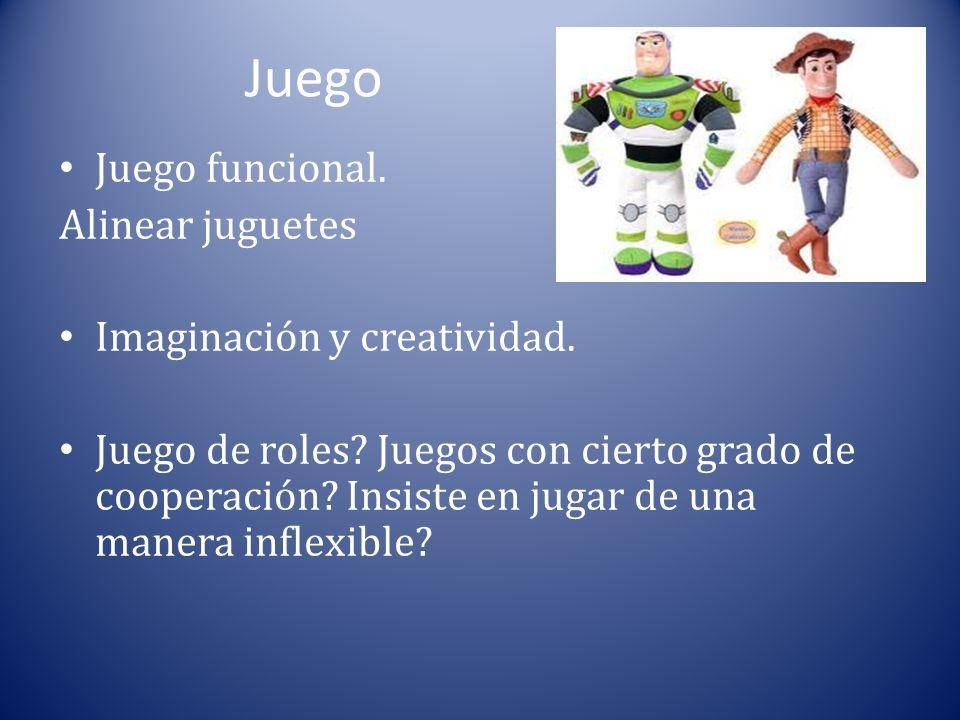 Juego Juego funcional. Alinear juguetes Imaginación y creatividad.