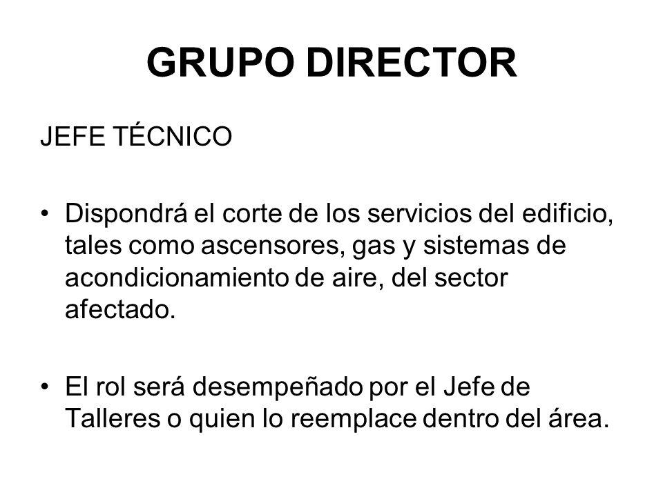 GRUPO DIRECTOR JEFE TÉCNICO