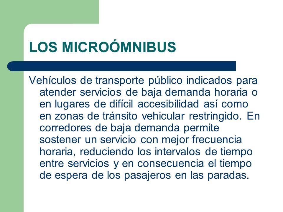 LOS MICROÓMNIBUS