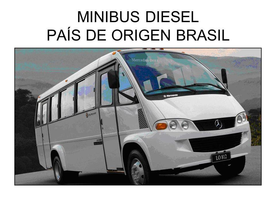 MINIBUS DIESEL PAÍS DE ORIGEN BRASIL