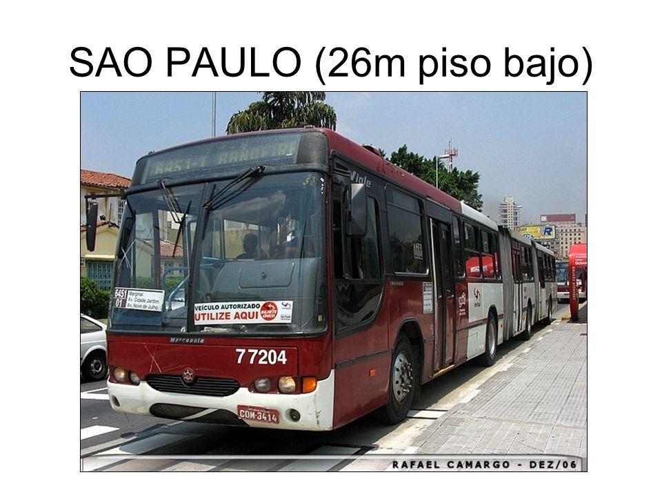 SAO PAULO (26m piso bajo)