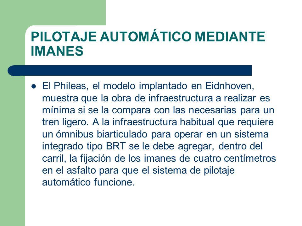 PILOTAJE AUTOMÁTICO MEDIANTE IMANES