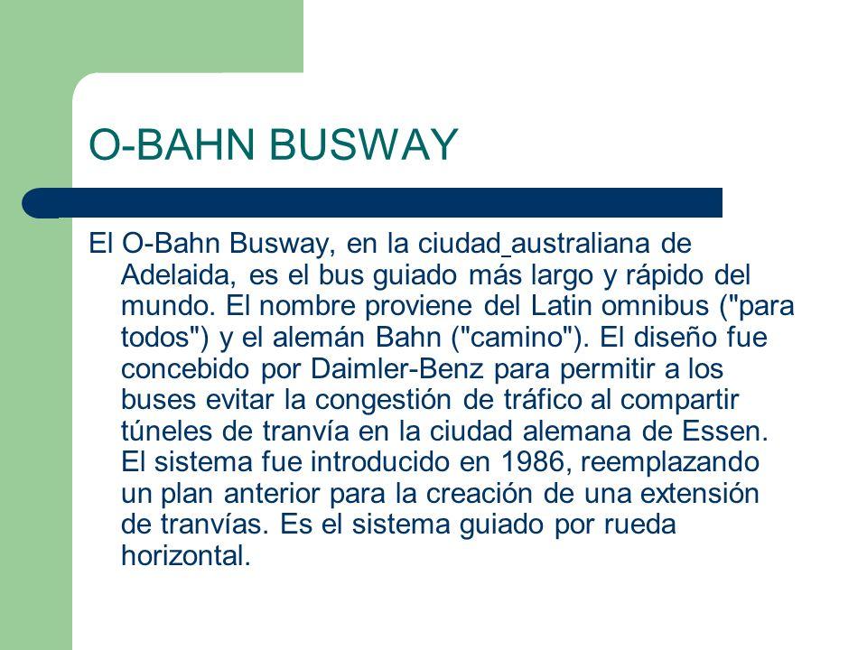 O-BAHN BUSWAY