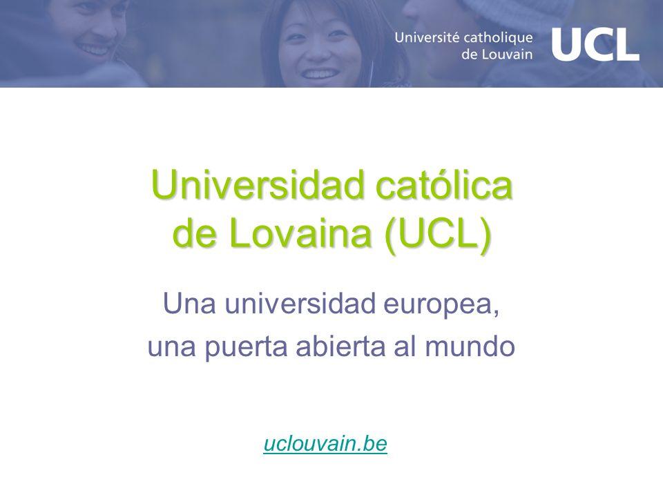 Universidad católica de Lovaina (UCL)