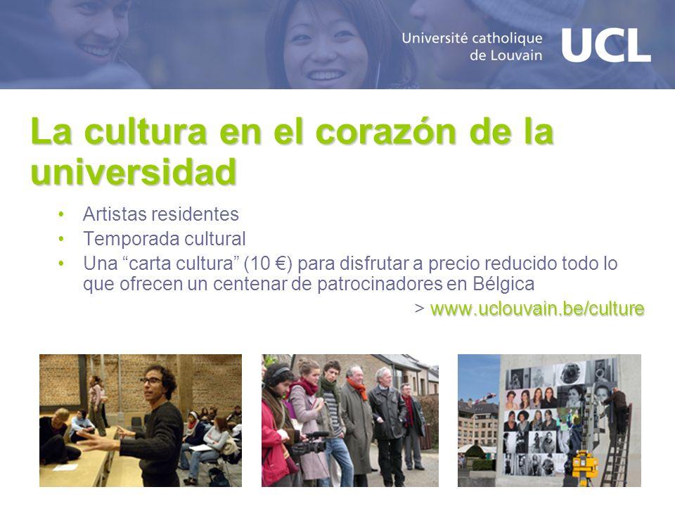 La cultura en el corazón de la universidad