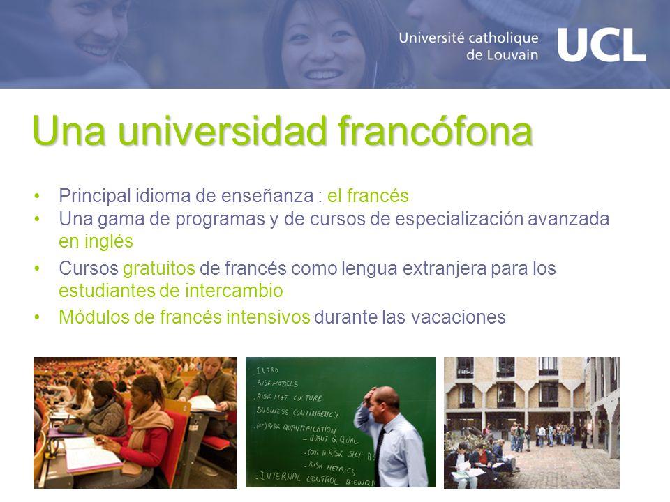 Una universidad francófona