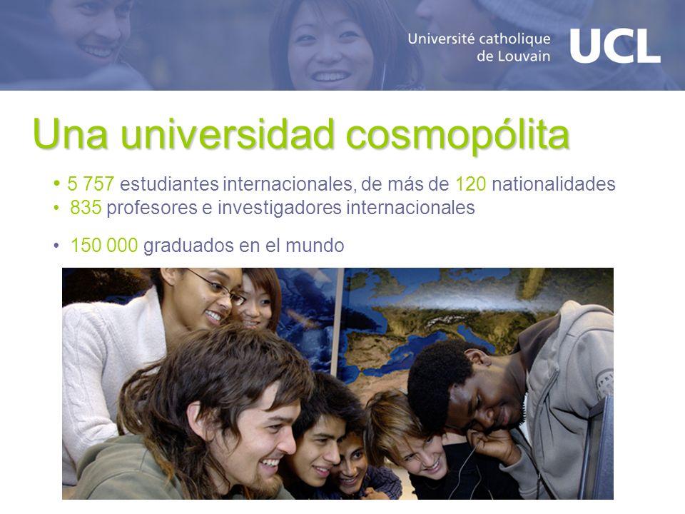 Una universidad cosmopólita