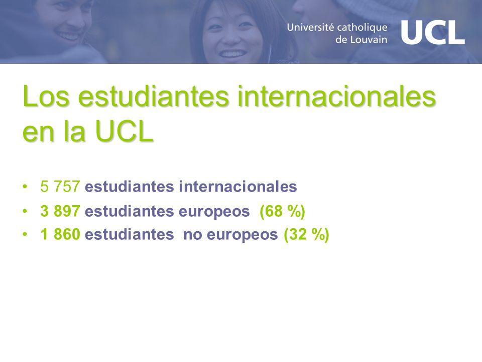 Los estudiantes internacionales en la UCL