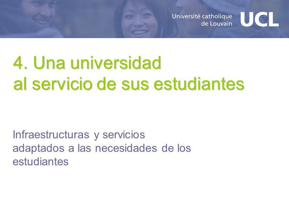 4. Una universidad al servicio de sus estudiantes